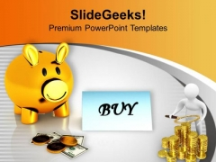 Save More Money As Compare To Expenses PowerPoint Templates Ppt Backgrounds For Slides 0313