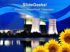 Save The Nature Industrial PowerPoint Templates And PowerPoint Backgrounds 0311