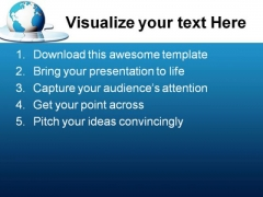 Save The World Earth PowerPoint Themes And PowerPoint Slides 0311