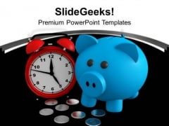 Save Time And Money Concept PowerPoint Templates Ppt Backgrounds For Slides 1212