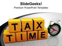 Save Your Money On Tax Returns PowerPoint Templates Ppt Backgrounds For Slides 0513