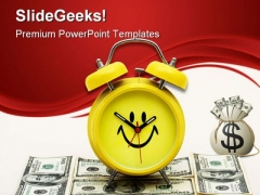 Saving Money Future PowerPoint Backgrounds And Templates 1210