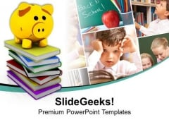Savings For Children Education PowerPoint Templates And PowerPoint Themes 1112