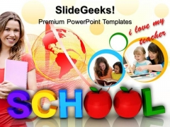 School Education Children PowerPoint Templates And PowerPoint Themes 0612