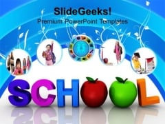 School Education PowerPoint Templates And PowerPoint Themes 0812