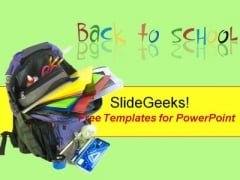 Back to School Children PowerPoint Template