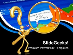 Searching For Answers Business PowerPoint Themes And PowerPoint Slides 0411