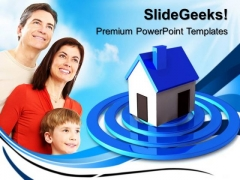 Searching For House Family PowerPoint Templates And PowerPoint Themes 0612
