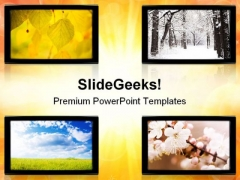 Seasons Nature PowerPoint Themes And PowerPoint Slides 0811