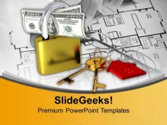Security Real Estate Finance PowerPoint Templates And PowerPoint Themes 1112