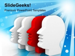 See All The Sides Of Human Nature PowerPoint Templates Ppt Backgrounds For Slides 0613