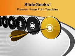 Select The Right Target PowerPoint Templates Ppt Backgrounds For Slides 0513