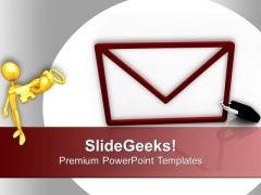 Send E Mail For Business Communication PowerPoint Templates Ppt Backgrounds For Slides 0613