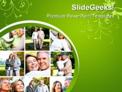 Senior Couples Lifestyle PowerPoint Themes And PowerPoint Slides 0411