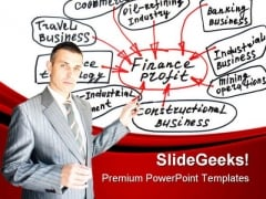 Serious Speaker Business PowerPoint Themes And PowerPoint Slides 0411
