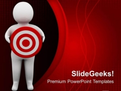 Set The Target In Business PowerPoint Templates Ppt Backgrounds For Slides 0613