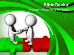 Shake Hands For Good Client Relationship PowerPoint Templates Ppt Backgrounds For Slides 0613