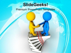 Shake Hands With Right Customers PowerPoint Templates Ppt Backgrounds For Slides 0713