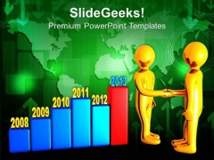 Share The Yearly Result With Clients PowerPoint Templates Ppt Backgrounds For Slides 0713