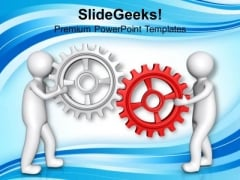Share Your Ideas To Gear Process PowerPoint Templates Ppt Backgrounds For Slides 0613
