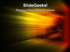 Shinnning Rays Abstract PowerPoint Templates And PowerPoint Backgrounds 0611