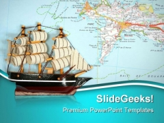 Shipping Worldwide Travel PowerPoint Themes And PowerPoint Slides 0811