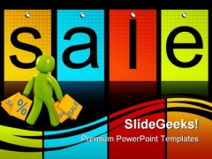 Shopping Sales PowerPoint Templates And PowerPoint Backgrounds 0811