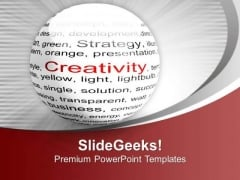 Show Your Creativity In Business PowerPoint Templates Ppt Backgrounds For Slides 0513