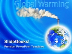 Smoke Industrial PowerPoint Templates And PowerPoint Backgrounds 0211