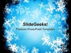 snowflake powerpoint templates, slides and graphics, Modern powerpoint