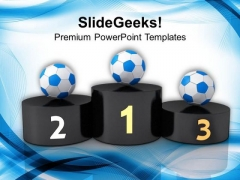 Soccer Ball Competition Concept PowerPoint Templates Ppt Backgrounds For Slides 0413