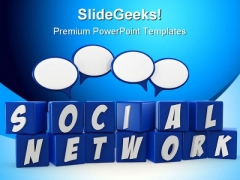 Social Network Communication PowerPoint Backgrounds And Templates 1210