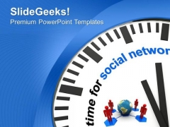 Social Networking Concept Global PowerPoint Templates Ppt Backgrounds For Slides 0513