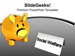 Social Welfare Concept Charity Competition PowerPoint Templates Ppt Backgrounds For Slides 0413