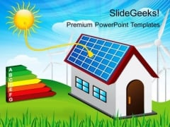 Solar Energy Technology PowerPoint Templates And PowerPoint Themes 0212