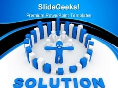 Solution Alternative Concept01 Business PowerPoint Themes And PowerPoint Slides 0811