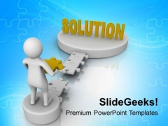 Solution Can Be Find With Unique Thinking PowerPoint Templates Ppt Backgrounds For Slides 0713