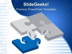 Solution Puzzle Business PowerPoint Templates And PowerPoint Themes 0512