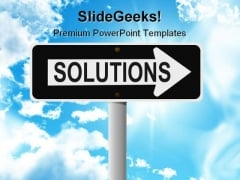 Solutions Business PowerPoint Templates And PowerPoint Backgrounds 0911