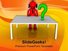 Solve All The Customer Relative Matter PowerPoint Templates Ppt Backgrounds For Slides 0613