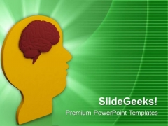 Solve Problems With Help Of Brain PowerPoint Templates Ppt Backgrounds For Slides 0613