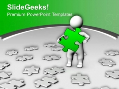 Solve The Riddle Business PowerPoint Templates Ppt Backgrounds For Slides 0513