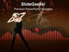 Sound Music PowerPoint Templates And PowerPoint Backgrounds 0811