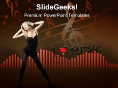 Sound Music PowerPoint Themes And PowerPoint Slides 0811