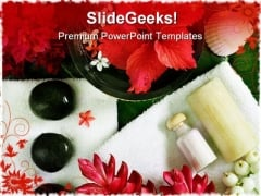 Spa Beauty Nature PowerPoint Templates And PowerPoint Backgrounds 0211