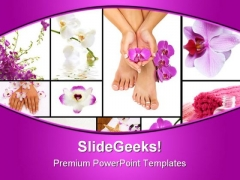 Spa Collage Beauty PowerPoint Themes And PowerPoint Slides 0311