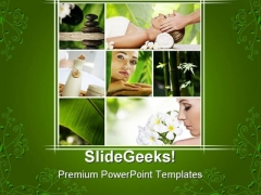 Spa Collage Health PowerPoint Templates And PowerPoint Backgrounds 0411