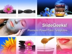 Spa Massage Lifestyle PowerPoint Templates And PowerPoint Backgrounds 0311