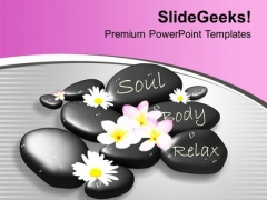 Spa Massage Wellness Beauty Theme PowerPoint Templates Ppt Backgrounds For Slides 0413