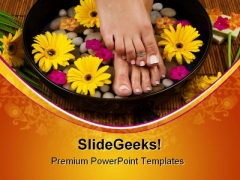 Spa Treatment Lifestyle PowerPoint Templates And PowerPoint Backgrounds 0311